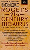 Roget's Twenty-First Century Thesaurus in Dictionary Form, Princeton Language Institute Staff, 0440215552
