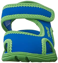 Teva Tidepool CT Water Sandal (Toddler/Little Kid), Blue/Green, 7 M US Toddler