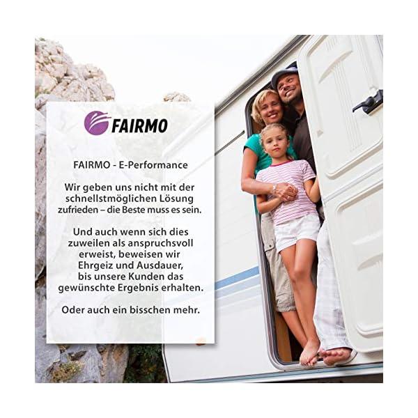 FAIRMO Wohnmobil Trittstufen Fußmatte - Premium Teppich - Zubehör individuell passend - Clean Step Wohnwagen - Camping…