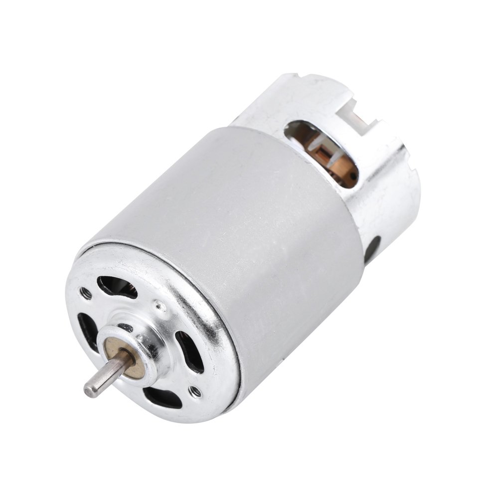 RS-550 Micro Motor DC 12-24V 5800 RPM Electric Coreless Mini Motor for Various Cordless Electric Hand Drill Toys DIY Hilitand