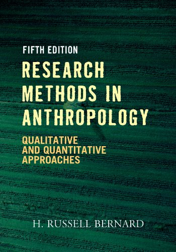 Download Research Methods in Anthropology: Qualitative and Quantitative Approaches Pdf