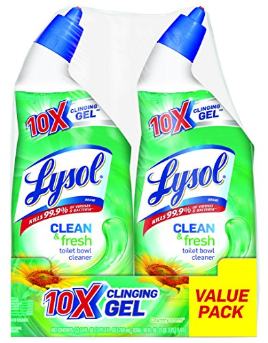 Lysol Cling Gel Toilet Bowl Cleaner Country Scent