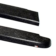 Wade 72-40171 Truck Bed Rail Caps Black Smooth Finish without Stake Holes for 2004-2012 Chevrolet Colorado & GMC Canyon Crew Cab (Set of 2)
