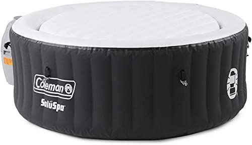 Coleman 13804-BW SaluSpa 4 Person Portable Inflatable Outdoor Round Hot Tub Spa