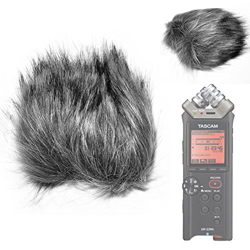 Fomito EN-11 Furry Microphone Windscreen Wind Cover for