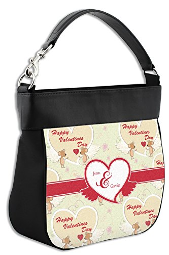 Hobo Love Mouse Front Personalized Leather Trim w Purse Genuine 7A7warx