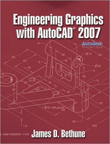 Amazoncom Engineering Graphics With Autocad 2007 9780132389426