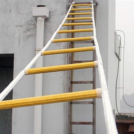 YXIAOL Escalera Blanda Cuerda De Seguridad Escalera De Ingeniería ...