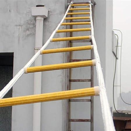 YXIAOL Escalera Blanda Cuerda De Seguridad Escalera De ...