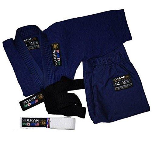 (Vulkan Fight Company Brazilian Jiu Jitsu, Baby BJJ GI, Navy Blue, B1)