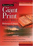 Personal Size Giant Print Shoulder Strap Bible, Thomas Nelson, 0840717857