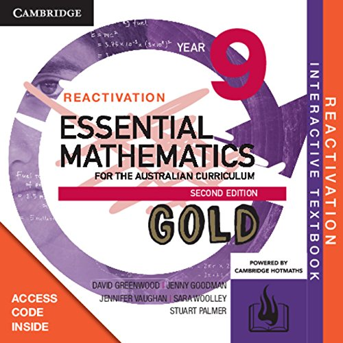 Essential Mathematics Gold for the Australian Curriculum Year 9 2ed Reactivation (Card)