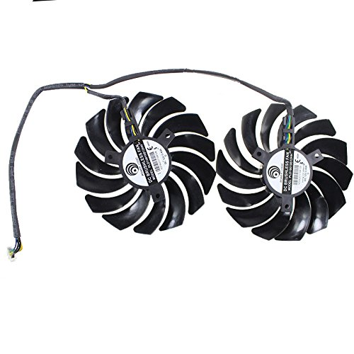 Tebuyus Graphics Cards Cooling Fan For MSI GTX 1080 GAMING,GTX 1080Ti,GTX 1070,GTX 1060,RX 580, RX570, RX 470, RX 480 GAMING Video Card Fan by Tebuyus (Image #2)