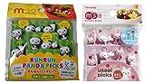 Torune Food Picks Bento Lunch Accessories Picks Set - 8-Piece Panda & 8-Piece Rabbit