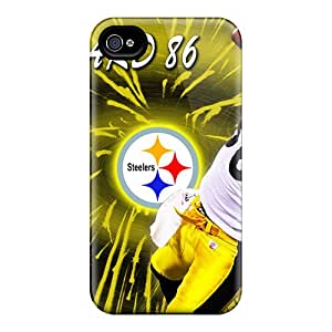 Anti-Scratch Cell-phone Hard Cover For Iphone 6 With Provide Private Custom HD Pittsburgh Steelers Pattern NataliaKrause