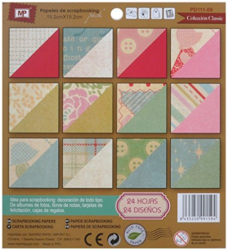 MP PD111 – 09 – Block of Scrapbooking Double Sided