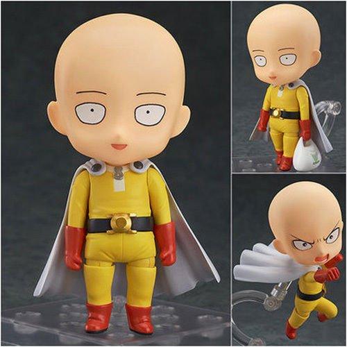 Shalleen Anime One Punch Man Hero Saitama Nendoroid PVC Figure Toy (Play Club Penguin Halloween)
