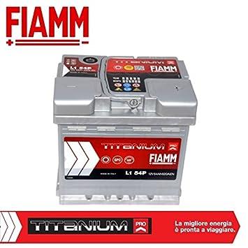 Fiamm L154+ Titanium Plus - Batería para coche 54Ah 520A, polo positivo a la derecha: Amazon.es: Coche y moto