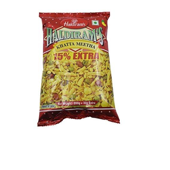 Haldirams Namkeen - Khatta Meetha (Del) 200gm (Pack of 2)