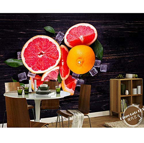 Weaeo Grapefruit Ice Food Photo 3D Fondos De Pantalla Murales Para ...