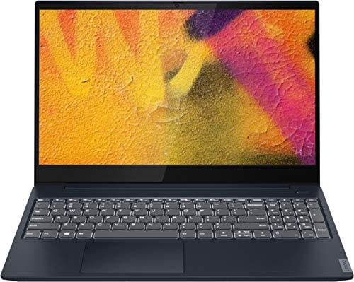 "Lenovo - IdeaPad S340 15"" Touch-Screen Laptop - AMD Ryzen 7 3700U - 12GB Memory - 512GB Solid State Drive - Abyss Blue - 81QG000DUS"