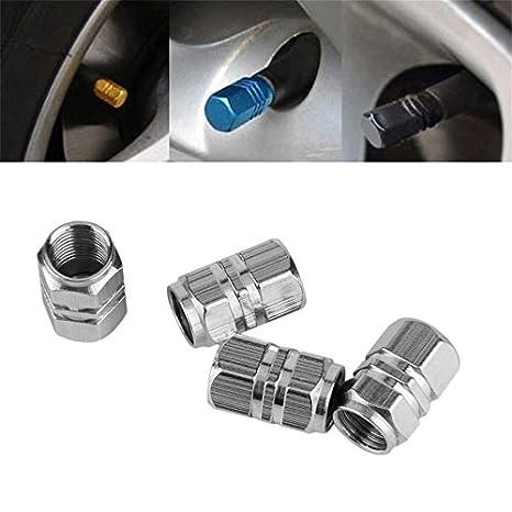4pcs Cubierta del neumático de la rueda del neumático del neumático del neumático del carro del coche del coche cubre ...