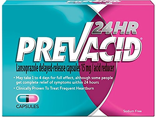 Prevacid 24HR Caps 42-Count (pack of 2) by Prevacid 24HR