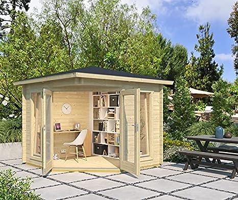 Lasita Maja Gartenhaus Oban I Wandst/ärke 40 mm
