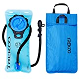 Trekoo Hydration Bladder 2L Leak Proof Water Reservoir Hydration Pack Bladder, Large Opening and Tasteless, for Hiking, Climbing, Cycling, Running For Sale