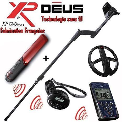XP – Detector de metales Deus Full 1- tecnología inalámbrica – Mando a distancia –