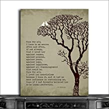 9.5x12 Metal Art Print Personalized Gift For 10th First Anniversary Once And For All To My Sorrow Charles Dickens Gift 40th 50th Anniversary Custom Wedding Art