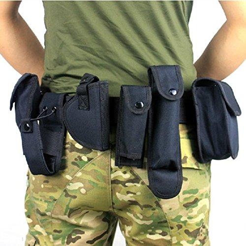 Tactical-Gôrtel mit 9 Taschen Outdoor-Utility-Kit