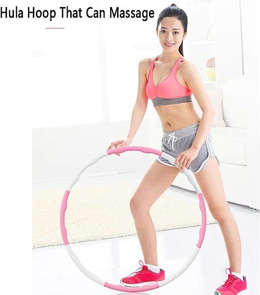 Faltbarer Fitness Hula Hoop Abnehmbarer Hula Hoop Fitness/übung Hula Hoop 8 Segmente Design-professioneller Soft Fitness Hula Hoop Zum Fettverbrennen zaizai Hula Hoop