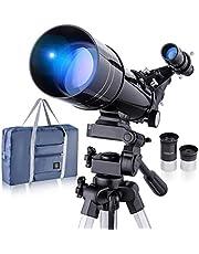 Brekende professionele astronomische telescoop, HD hoge vergroting, tweeërlei gebruik, geschikt voor volwassenen of kinderen beginners, draagbaar en uitgerust met statief