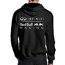 LiyiFF Men's Red Bull Racing Hoodie Sweatshirt