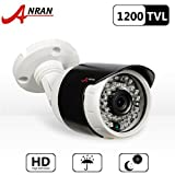 ANRAN HD 1200TVL 36 Infrared Leds Security Camera with 65ft Night Vision Wide Angle 3.6mm Outdoor Waterproof Home CCTV Bullet Camera For Sale