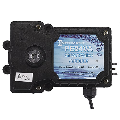(Intermatic PE24VA Valve Actuator, Black)