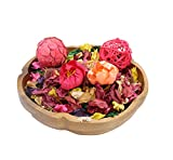 The Ambient Collection Decorative Scented Potpourri with flowers