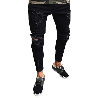 Pantalon Chandals Hombre - Logobeing Rodilleras Trabajo Slim ...