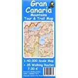 Gran Canaria Mountains Tour and Trail Map (Tour & Trail Maps)