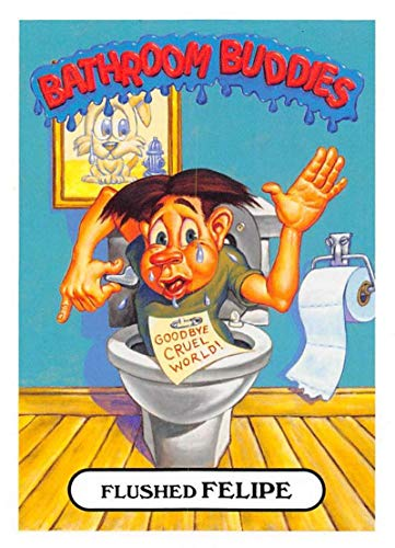 2018 Topps Garbage Pail Kids Oh The Horror-ible Bathroom Buddies NonSport #16A FLUSHED FELIPE ()