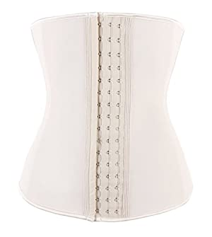 TWINS FLAME Waist Trainer - Premium Woman Waist Training Cincher & Body Shaper, Skin Latex, XS(Fit 22-23 Inch Waistline)