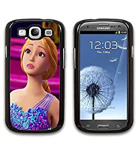 Galaxy S3 Funda Case Beauty Barbie And The Secret Door Print Hard Back Shell Cover Protector for Boys Snap on Samsung Galaxy S3