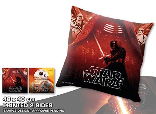 Star Wars Kissen 40 x 40 cm Kylo Ren BB-8