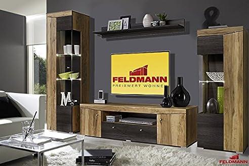 Wohnwand Wenge. Trendy Wohnwand Anbau Wand Hngeschrank Regal ...