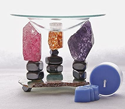 Cristal Henge aceite/vela hornillo de acampada para cocinas ...