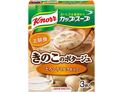 42.9gX10 or potage of mushrooms of Knorr Cup Soup milk tailoring