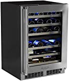 Marvel Professional 24'' Dual Zone Wine Refrigerator, right hinge