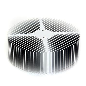 Dcolor Disipador de Calor Aluminio para 10W LED luz Bombilla Lampara Aluminio: Amazon.es: Electrónica