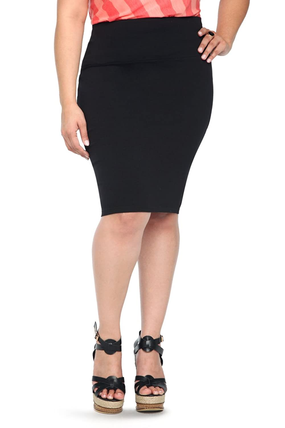 Torrid Women's Plus Size Fold Over Skirt